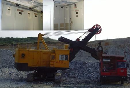 备品配件 挖掘机电控 牙轮钻机电控 高压户外计量保护柜  该4立方电铲